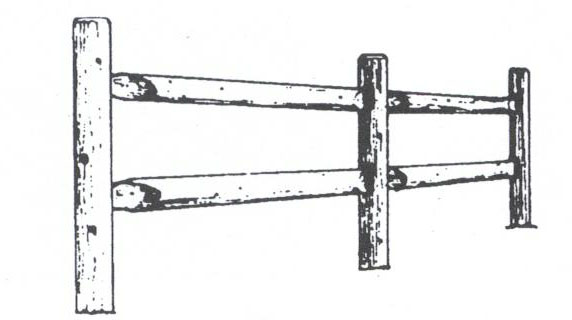 fence drawing.