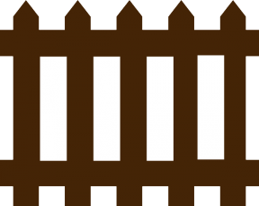 Slats Fence Clip Art, Vector Image & Illustrations.