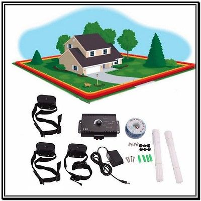 Underground Electric Dog Fence System Waterproof Shock Collars For.