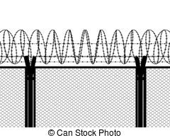 Fencing Wire Clipart.