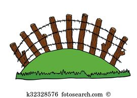 Fencepost Clipart EPS Images. 35 fencepost clip art vector.