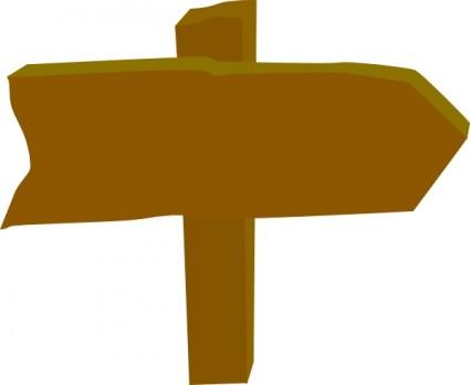 Wood Sign Clip Art Download.