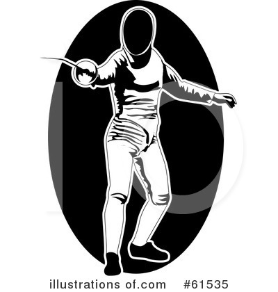 Fencing Clipart #61535.
