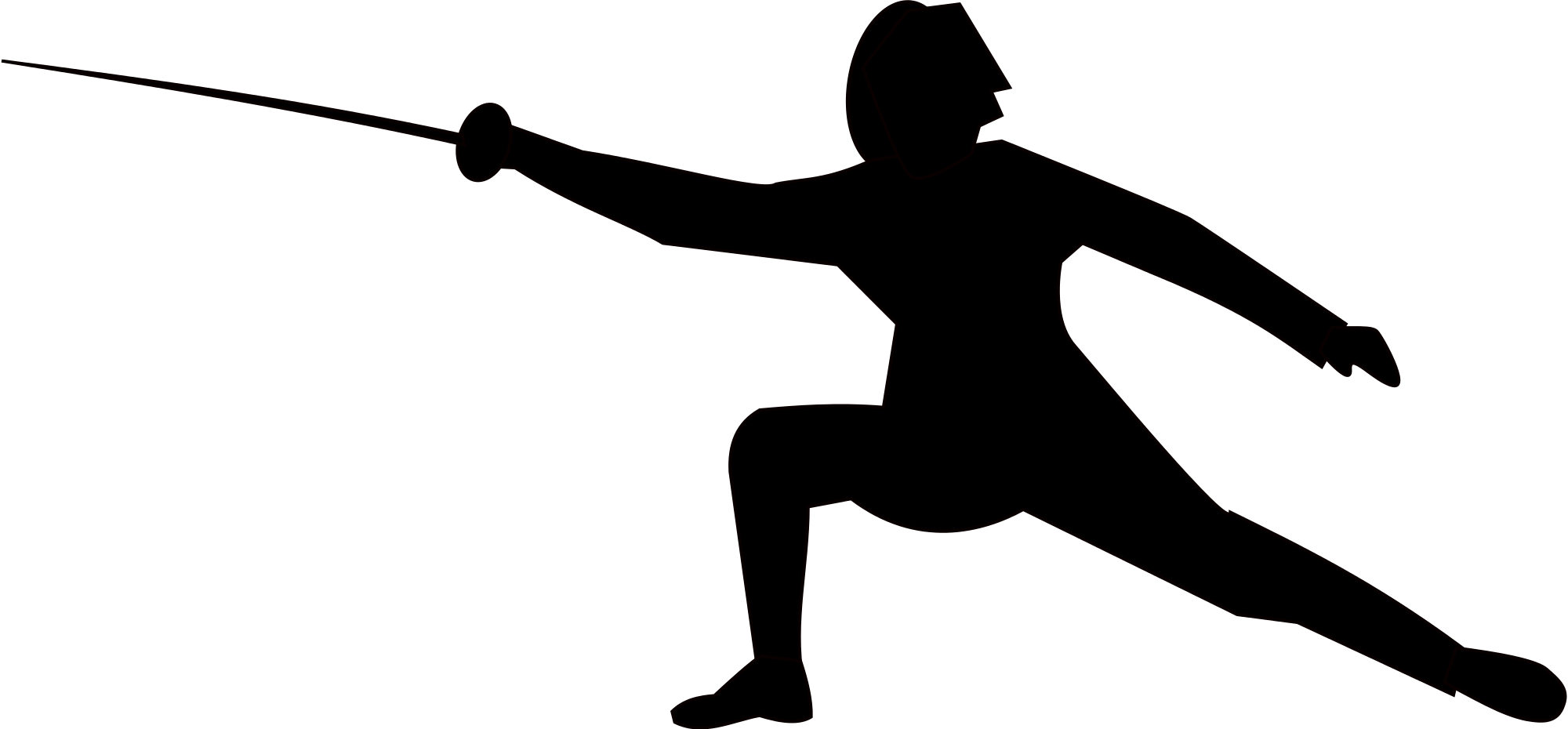 fencer clipart clipground