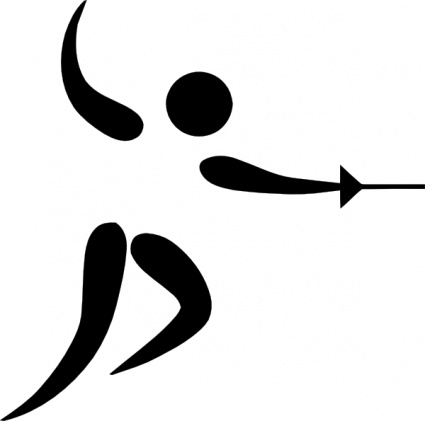 Fencing clipart #16