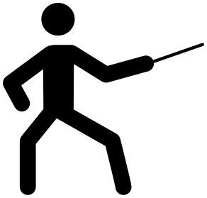 fencing clipart.