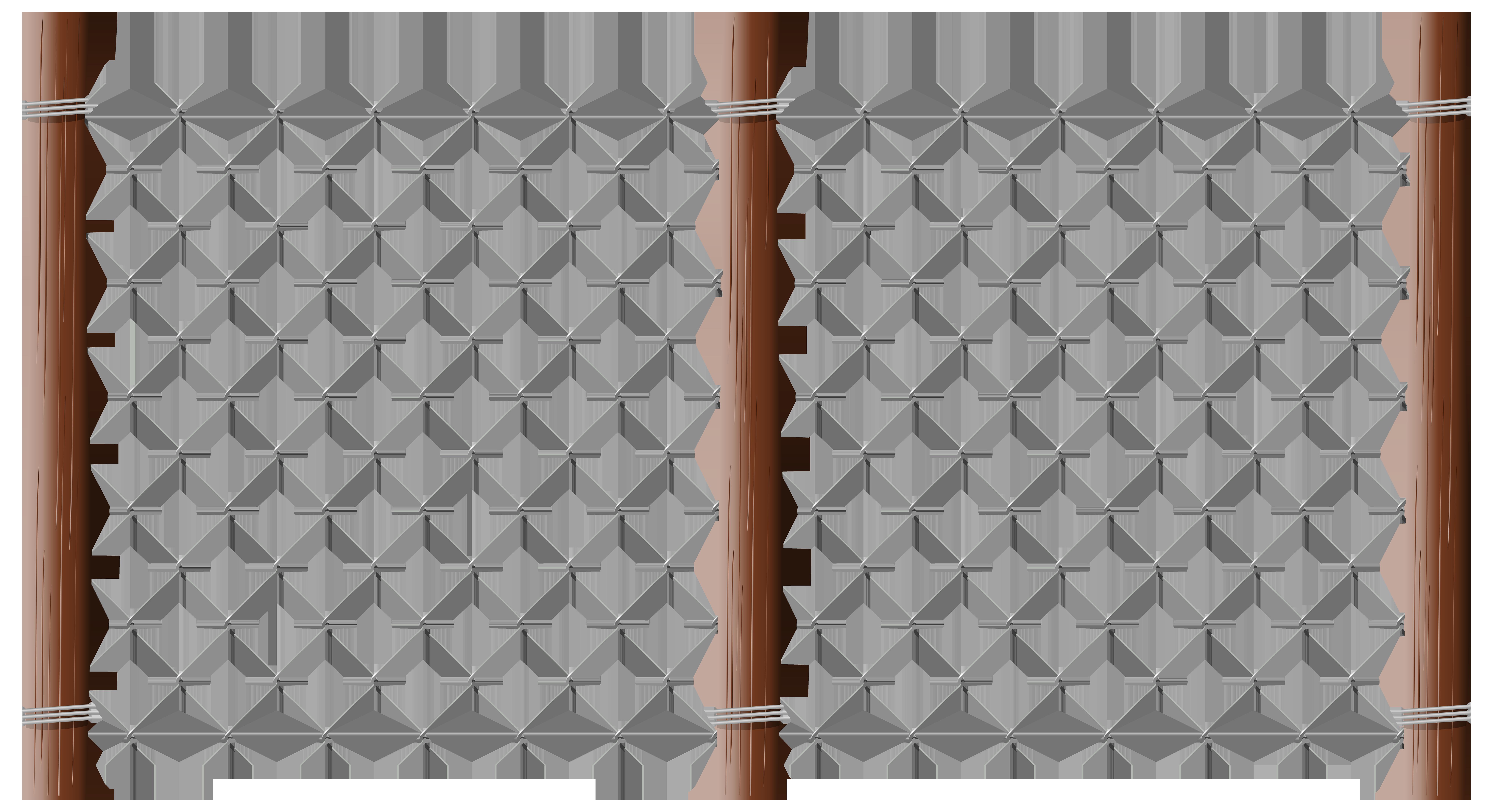 Fence PNG Transparent Clip Art Image.