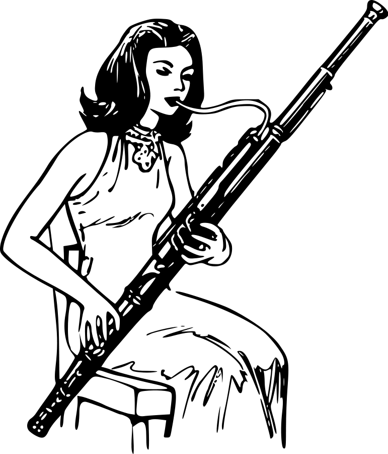 Basset Hound Clipart.