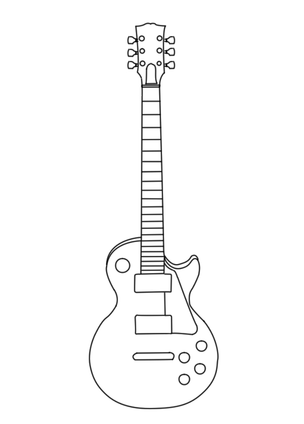 Real Guitar Images Clipart.