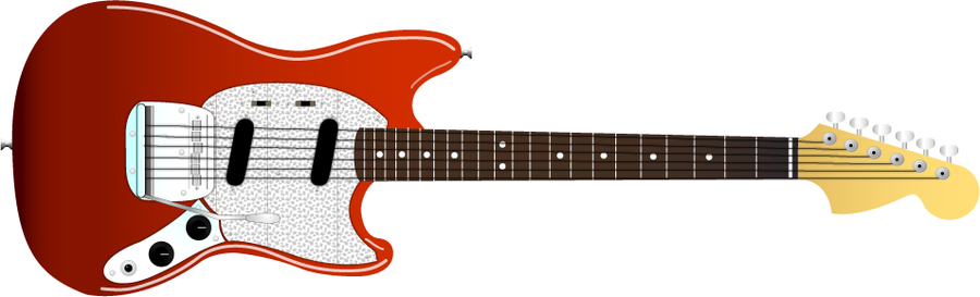 Fender '65 Mustang' Clip Art by Trackdancer on DeviantArt.