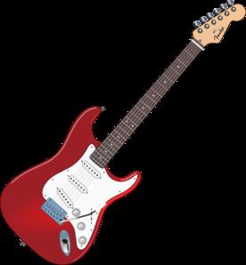 Fender Guitar Clipart.