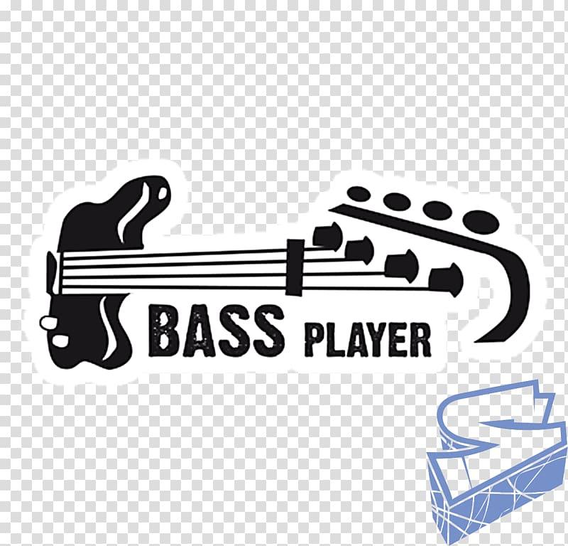 Bass Player icon illustration, T.