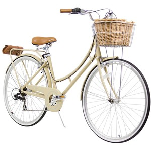 Royalty Free Clipart Image: Vintage Bicycle with Fenders.