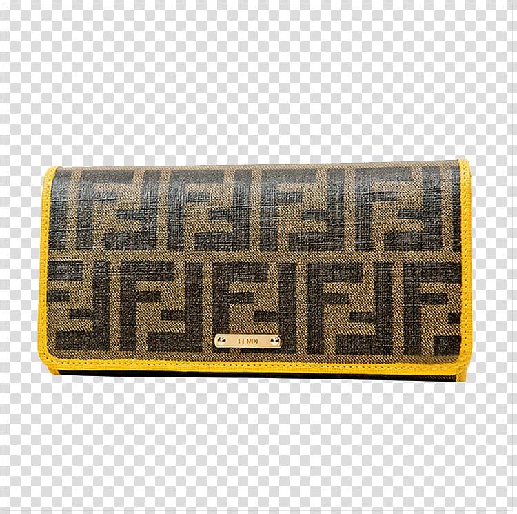 Chanel Fendi Wallet Handbag, Ms. Fendi Fendi brown long.