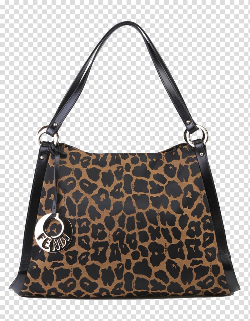 Hobo bag Tote bag Fendi Handbag, FENDI Fendi bag Leopard.