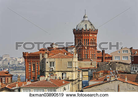 "Stock Photograph of ""Phanar Greek Orthodox College, Ozel Fener Rum."