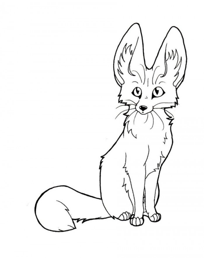 Coloring Pages Of Foxes. . Fox Coloring Pages Foxes Coloring Pages.
