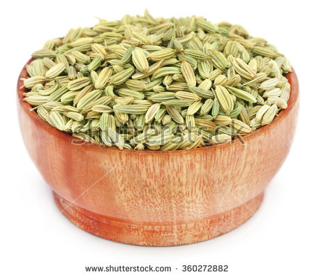 Fennel Seeds Stock Photos, Royalty.