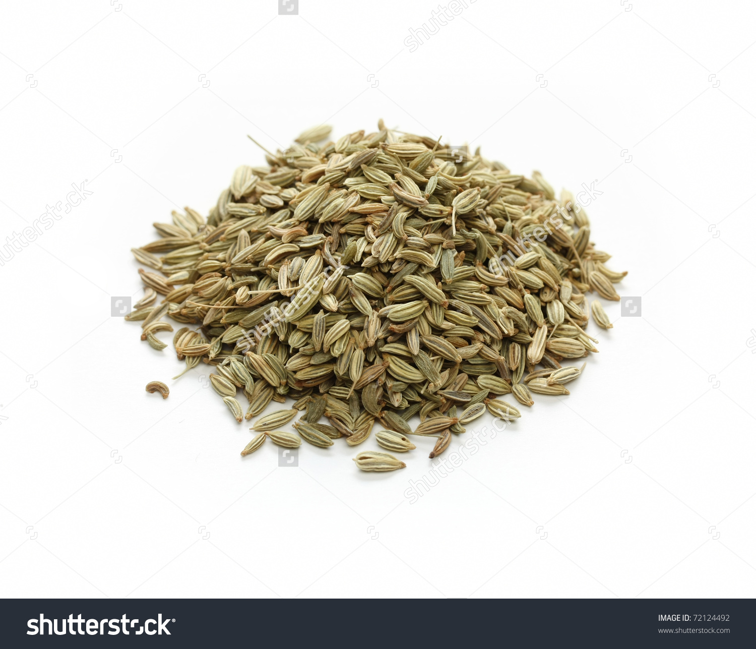 Fennel Seeds, Indian Spice Stock Photo 72124492 : Shutterstock.