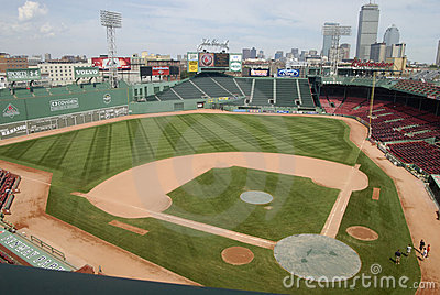 Boston, MA: Fenway Park, Home Of The Red Sox Editorial Photo.