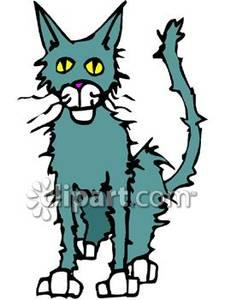 Stray Cat Clipart.