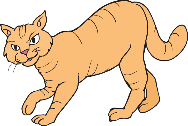 Large cat clipart - Clipground