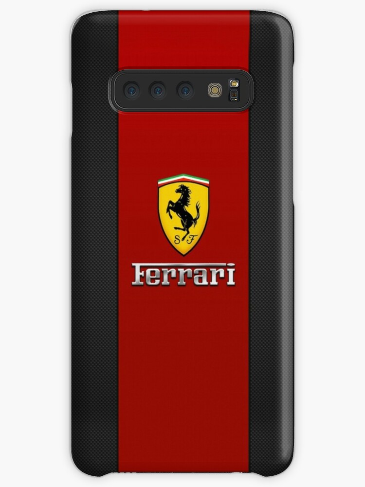 \'ferrari logo red black\' Case/Skin for Samsung Galaxy by adamsasteve.