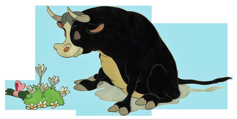 Ferdinand the Bull Clipart.
