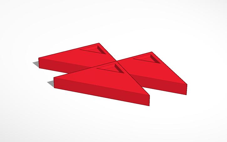 3D design Massey Ferguson Logo.