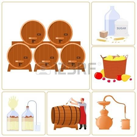 Wine Fermentation Cliparts, Stock Vector And Royalty Free Wine.