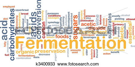 Drawing of Fermentation process background concept k3400933.