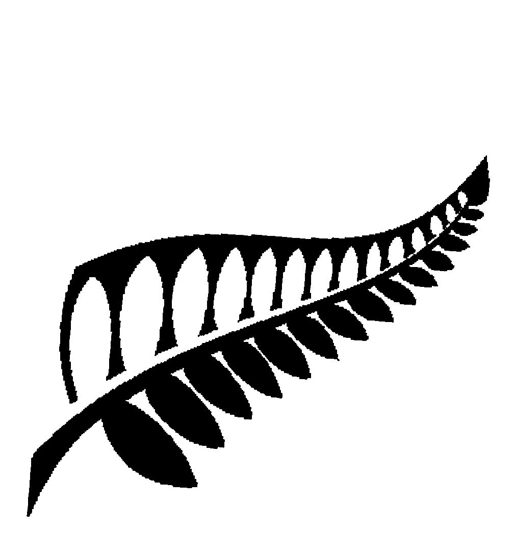 FERN LEAF,SILHOUETTE by The New Zealand Way Limited.