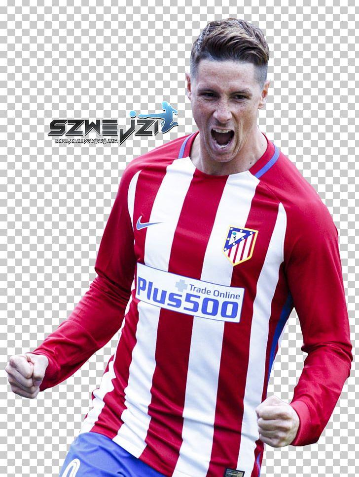 Fernando Torres Atlético Madrid Soccer Player Cheerleading.
