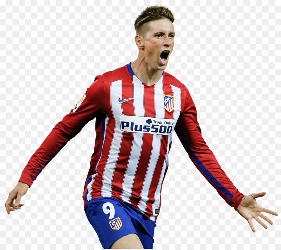 Fernando Torres PNG Atlético Madrid Clipart download.