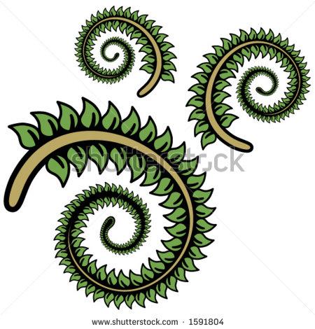 Fern Leaf Clip Art.