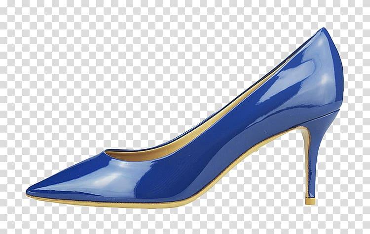 Shoe Designer Blue, Ferragamo shoes transparent background.