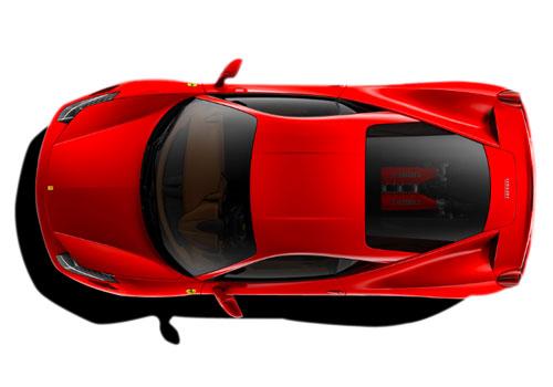 Ferrari 458 clipart hd.