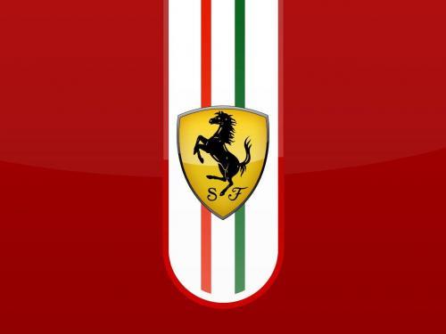 Ferrari symbol hd clipart.