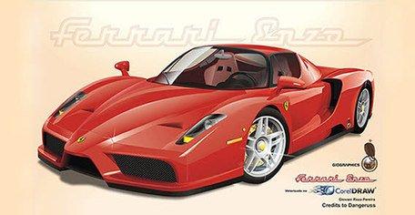 Ferrari Car Clipart Picture Free Download.