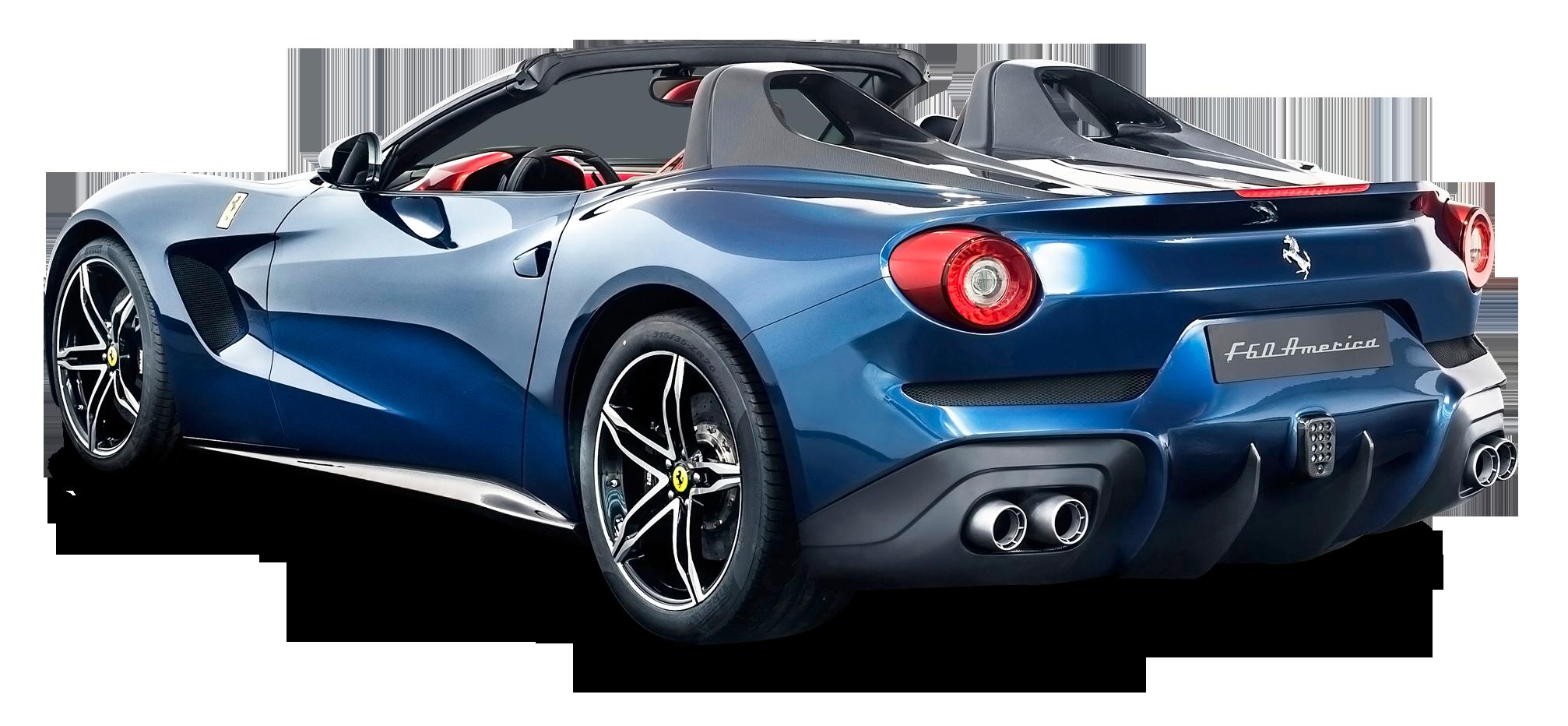 Ferrari Car PNG image.