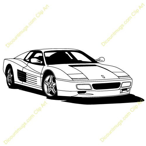 Ferrari Logo Clipart.