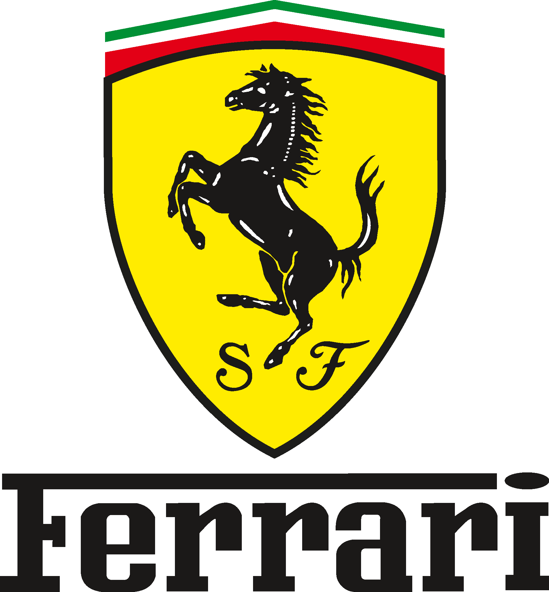 HD Ferrari Emblem And Logo.