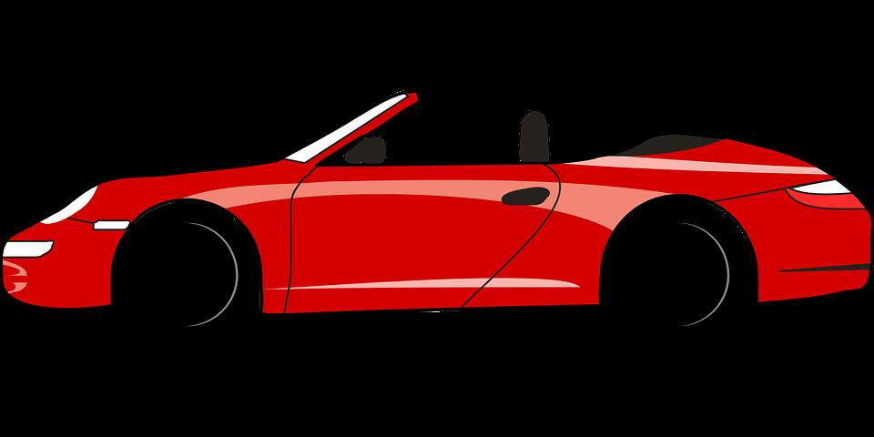 Ferrari race car clipart.