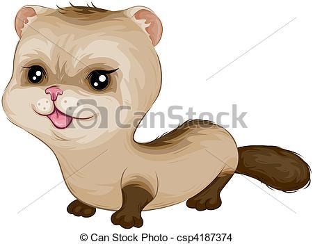 Ferret Illustrations and Clip Art. 338 Ferret royalty free.