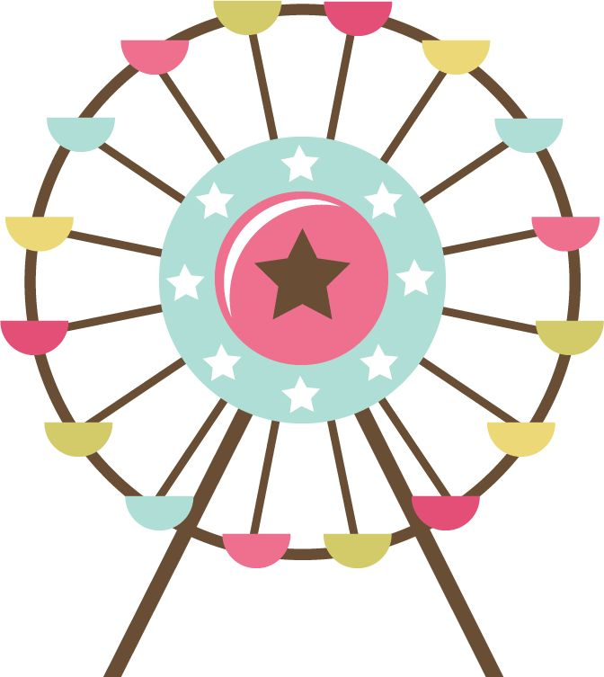 Clipart ferris wheel.