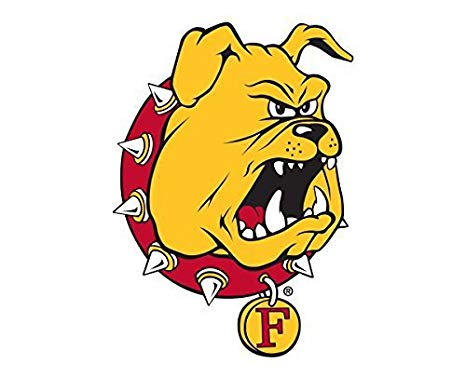 Victory Tailgate Ferris State University Bulldogs Removable Wall Decal Logo  1.