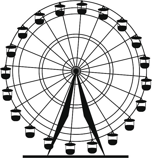 Best Ferris Wheel Illustrations, Royalty.