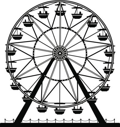 Ferris Wheel Clip Art.