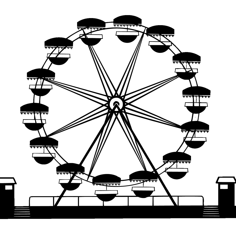 Car Ferris wheel Wagon Clip art.