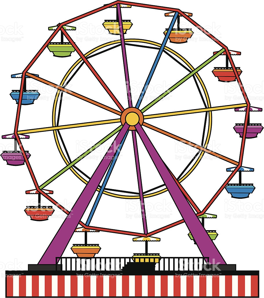 707 Ferris Wheel free clipart.